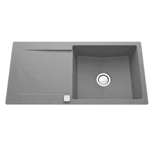 Luisina Epure Large Kitchen Sink with Drainer - Granite