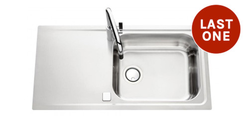 Luisina Fagotto EV58011-IL Single Bowl Kitchen Sink With Drainer