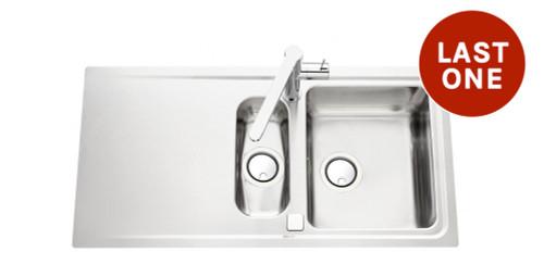 Luisina Fagotto EV5811-IL One + Half Bowl Kitchen Sink With Drainer