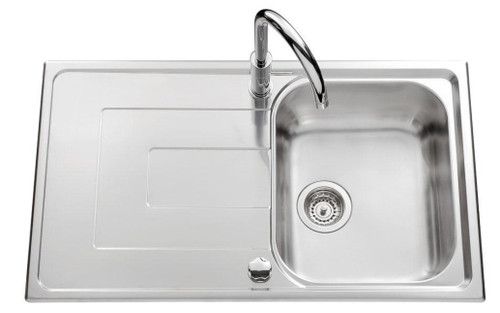 Luisina Debussy 1 Bowl And Drainer Kitchen Sink