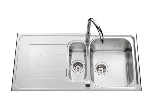 Luisina Debussy 1.5 Bowl And Drainer Kitchen Sink