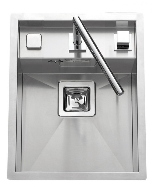 Luisina Disco 1 Bowl Kitchen Inset Sink - EV80-IL