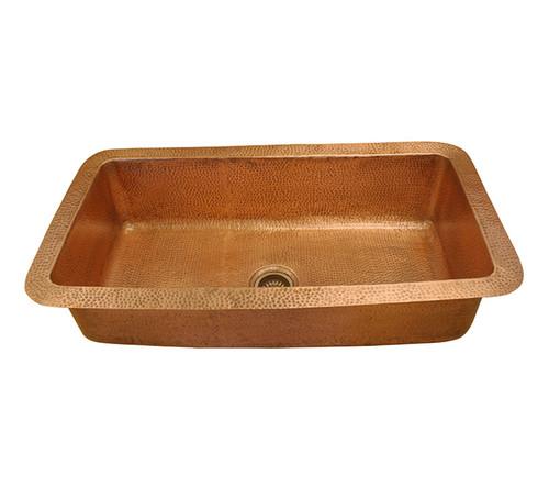 Eclectica Ceri Copper Kitchen Sink