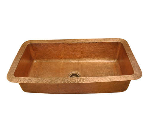 Eclectica Ceri Copper Kitchen Sink