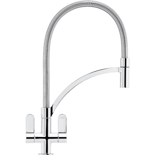 Franke Zelus Pull Out Kitchen Mixer Tap