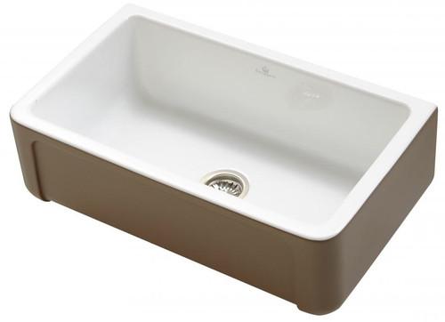 Chambord Henri II 1.0 Bowl Taupe Belfast Kitchen Sink