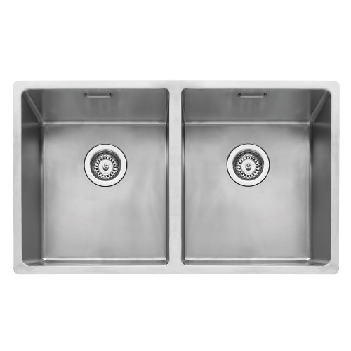 Caple MODE3434 Stainless Steel Double Bowl Kitchen Sink