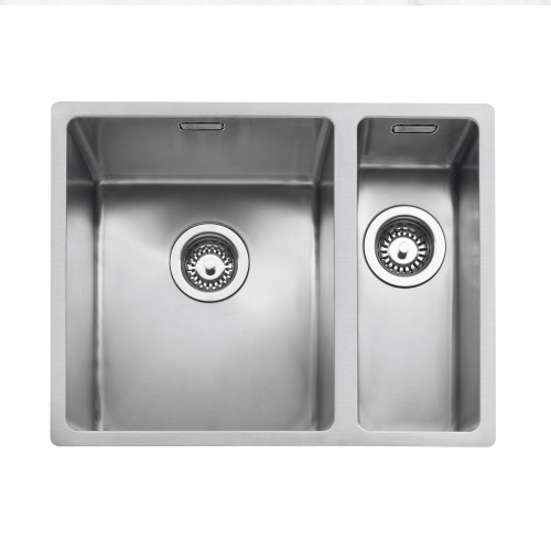 Caple MODE3415/R/SS Stainless Steel Kitchen Bowl in a Half Sink