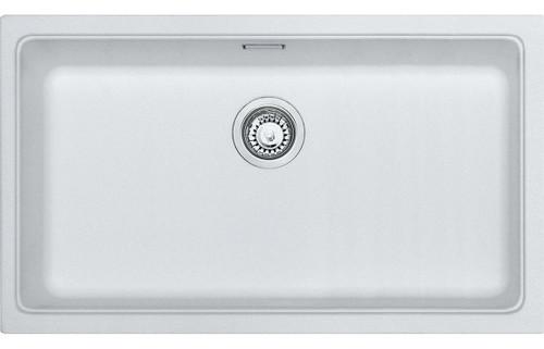 Franke Kubus KBG 110 70 1B Undermount Sink - Polar White