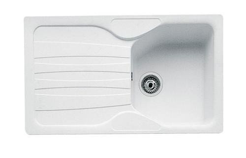 Franke Calypso COG 611 1B Inset Sink - Polar White