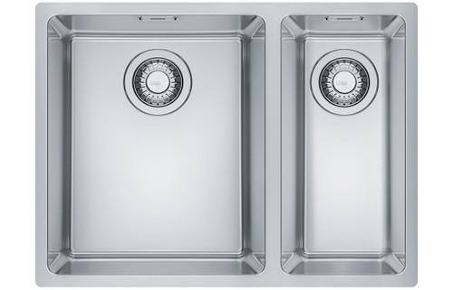 Franke Maris MRX 260-34-19 1.5B RHSB Inset Sink - Brushed Steel