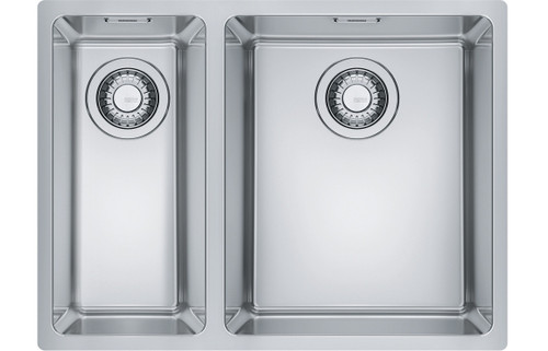 Franke Maris MRX 160-34-19 1.5B LHSB Undermount Sink - Brushed Steel