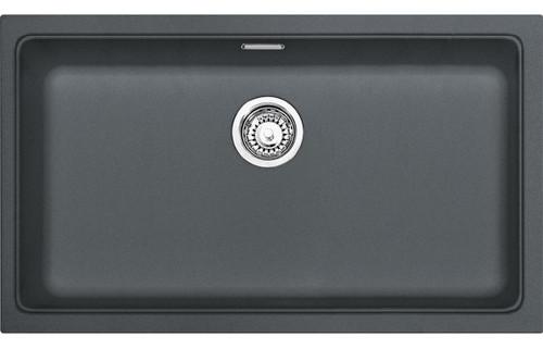 Franke Kubus KBG 110 70 1B Undermount Sink - Onyx