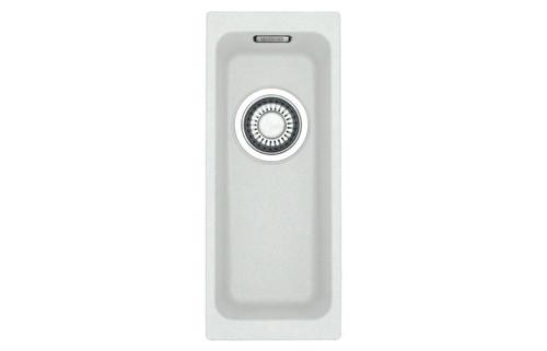 Franke Kubus KBG 110 16 0.5B Undermount Sink - Polar White