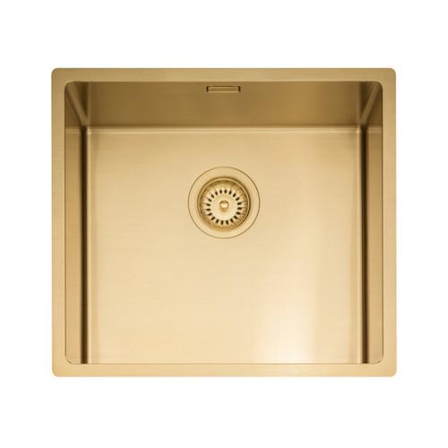 Caple MODE045/GD Gold Single Bowl Kitchen Sink