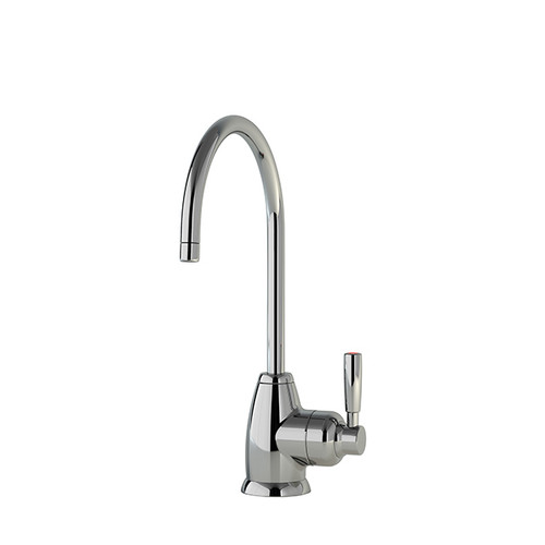 Perrin and Rowe Mimas Mini Instant Hot Water Tap, Digital Tank and Filter Chrome