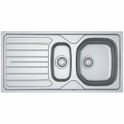 Tegas Reno 1.5 Bowl Reversible Stainless Steel Sink