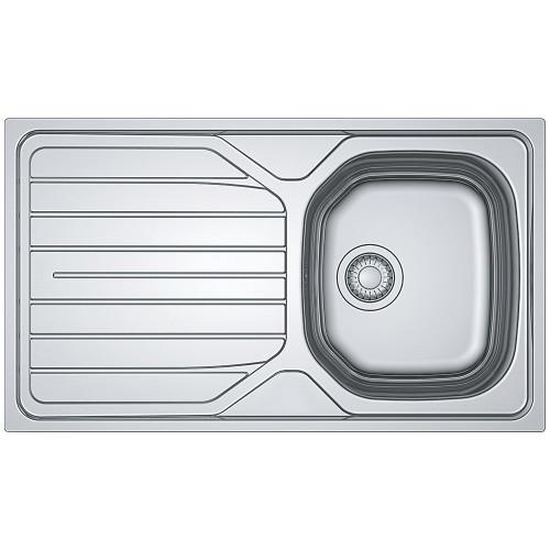 Tegas Reno Single Bowl Reversible Stainless Steel Sink