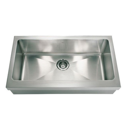 Kindred KCFS36A/10 Linear Stainless Steel Kitchen Sink