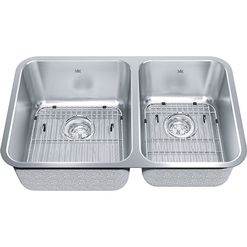 Kindred Collection KSC2RUA-9D Stainless Steel Kitchen Sink