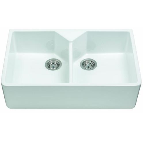 Franke Belfast BFK720 White Ceramic Kitchen Sink