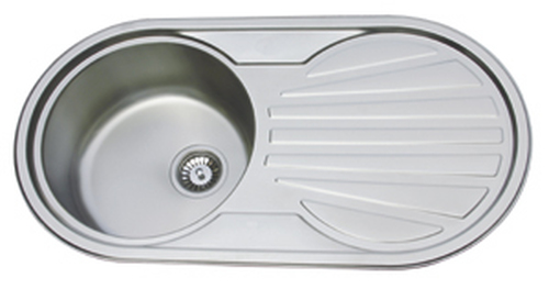 Ex Display Range - County Aberdeen Kitchen Sink Stainless Steel Silk