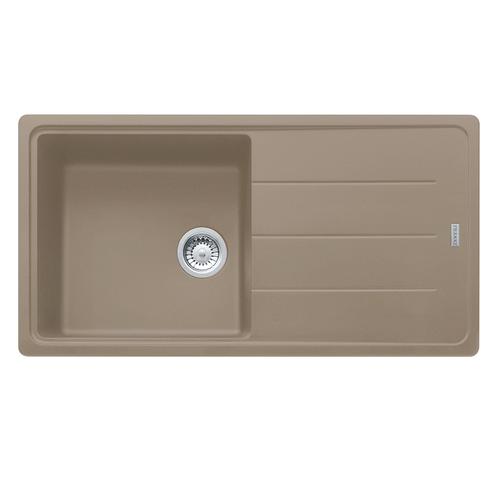 Franke Basis BFG611-97 Reversible Fragranite Oyster Kitchen Sink