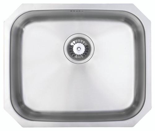 Ex Display Range Brass & Traditional Epsom Stainless Steel Single Bowl Undermount Sink