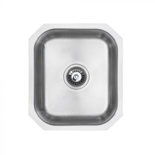 Brass & Traditional Cobham Classic Stainless Steel Single Bowl Undermount Sink