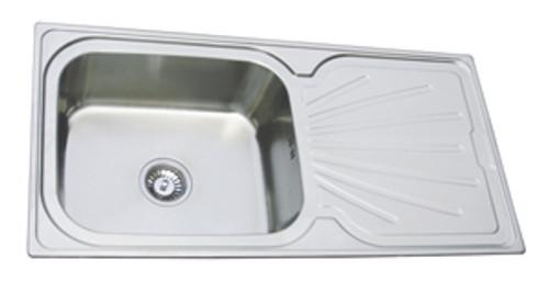 County Kenilworth Kitchen Stainless Steel Silk Sink