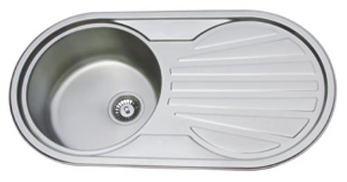 County Aberdeen Kitchen Sink Stainless Steel Silk