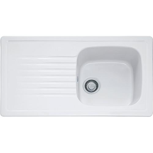 Franke Elba ELK611 Ceramic White Kitchen Sink