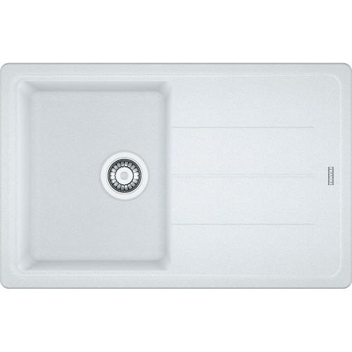 Franke Basis BFG611-78 Reversible Fragranite Polar White Kitchen Sink