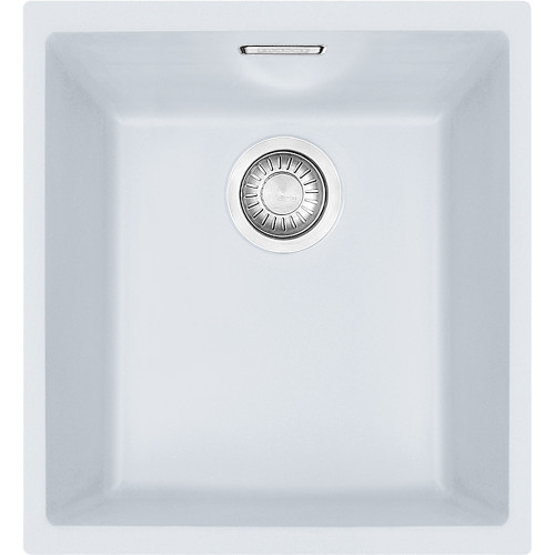 Franke Sirius SID110-34 Tectonite Polar White Kitchen Sink