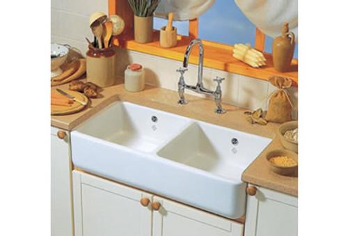 Shaws Double 1000 Kitchen Sink