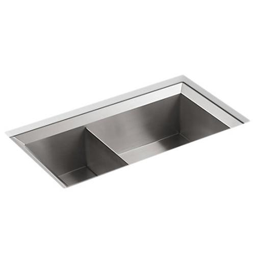 Kohler Poise Split Kitchen Sink