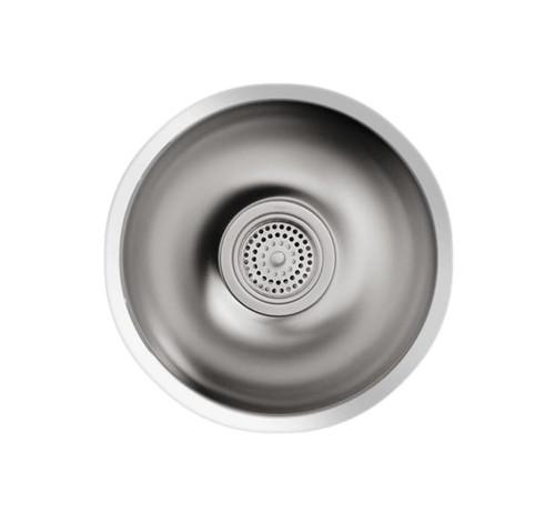 Kohler Icerock Round Bowl 292mm Diameter Kitchen Sink
