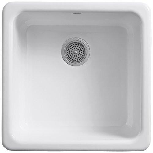Kohler Iron Tones Square Bowl Kitchen Sink
