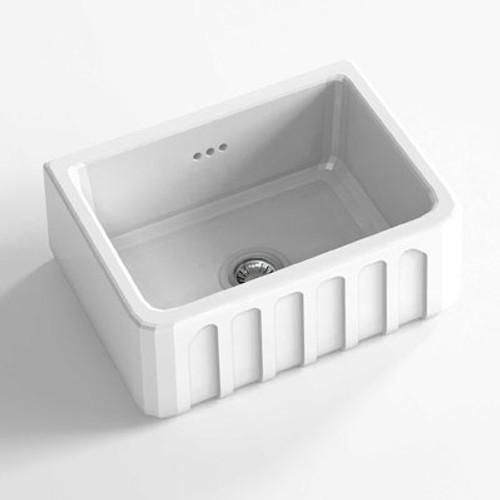Chambord Louis I White Ceramic Kitchen Sink