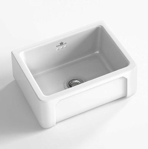 Chambord Henri I White Ceramic Kitchen Sink