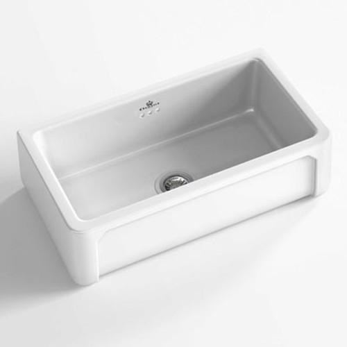 Chambord Henri II White Ceramic Kitchen Sink