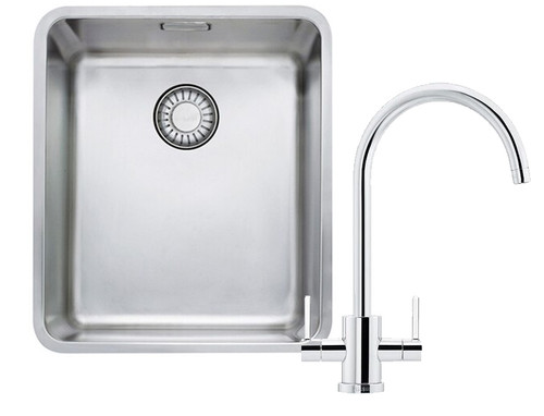 Franke Kubus Kbx110 34 Kitchen Sink With Krios J Tap Pack