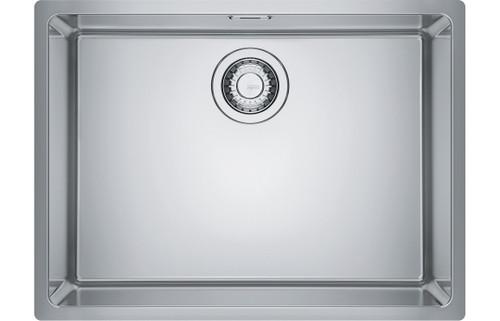 Franke Maris Mrx 110 55 1b Undermount Sink Brushed Steel Sinks