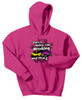 Wrecking Your First Car Hoodie-Pink