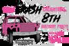 CRASH BIRTHDAY PARTY INVITATIONS