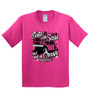 Cute With Sass Kids Tees-Pink