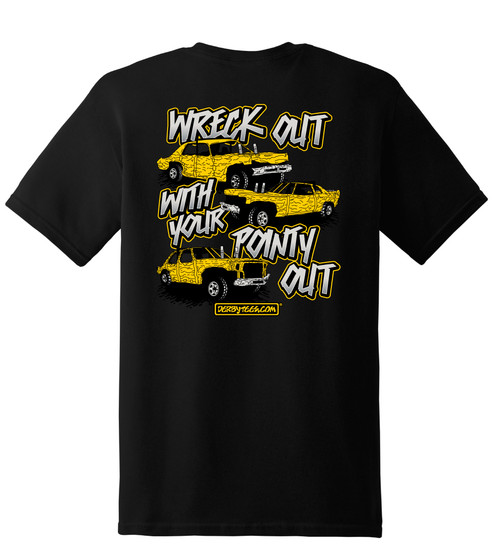 Wreck It Out With Pointy Out-Tee - CLEARANCE