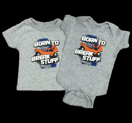 Born To Break Stuff Front