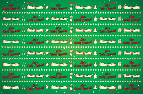 DERBY CHRISTMAS-GIFT WRAP