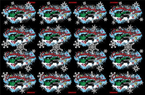 CRASHING THROUGH THE SNOW-GIFT WRAP 12-Pack Sale